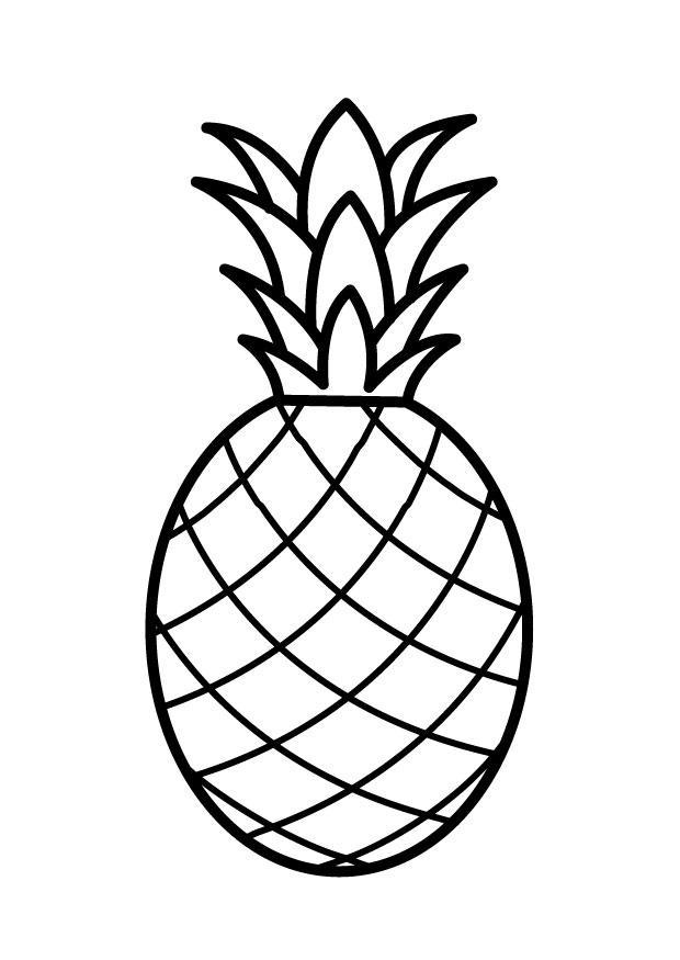 M larbild ananas Bild 23170