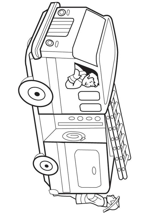 Kleurplaten Paw Patrol Printen M 229 Larbild Brandbil Bild 8174