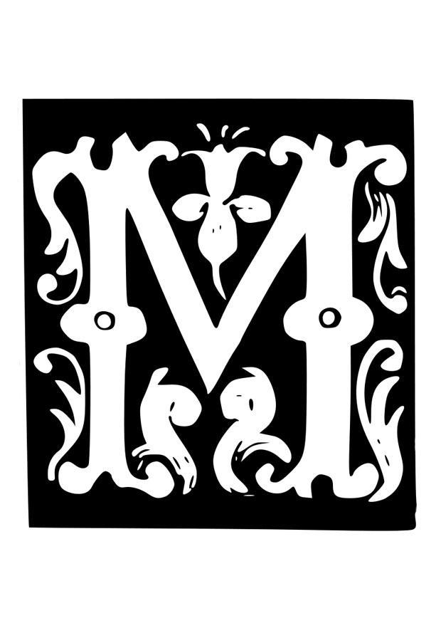 M 229 Larbild Dekorativa Bokst 228 Ver M Bild 19030
