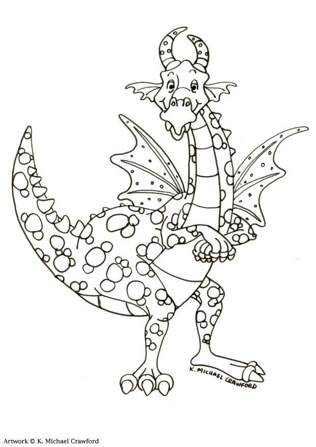 88 FREE COLORING PAGES FOR ADULTS DRAGONS PRINTABLE PDF ...
