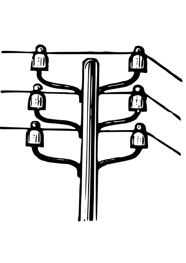 Power Line Coloring Pages
