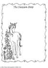 Målarbild Enhörningens sÃ¥ng