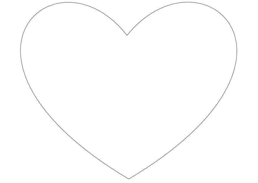 målarbild ett hjärta  bild 13816