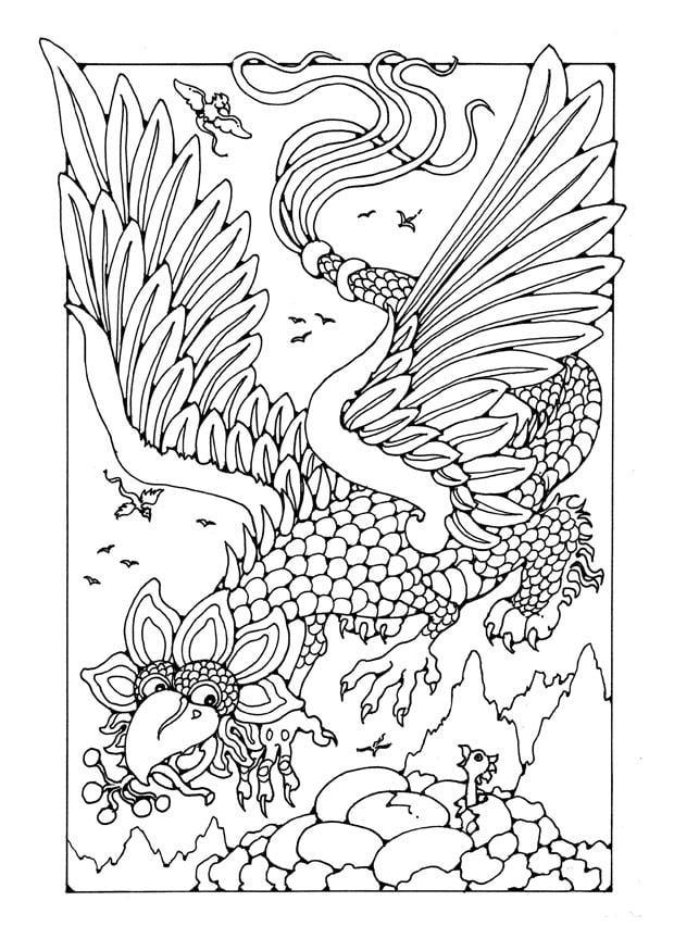 Kleurplaten Pokenon Go M 229 Larbild Flygande Drake Bild 25656