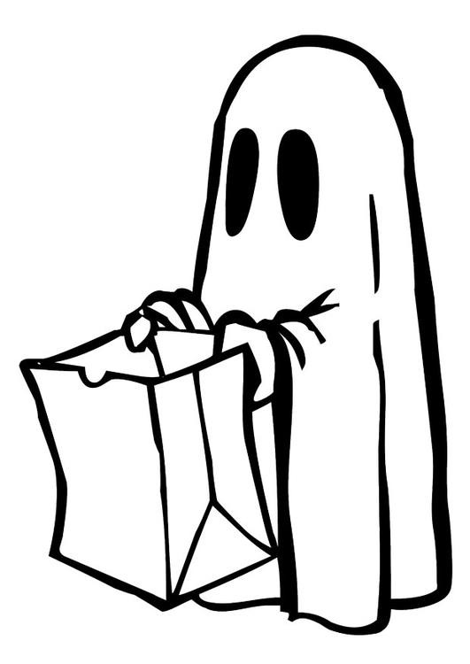 Målarbild Halloween - Bild 28901.