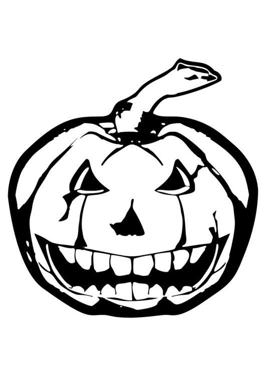 Målarbild halloween - Bild 29822.