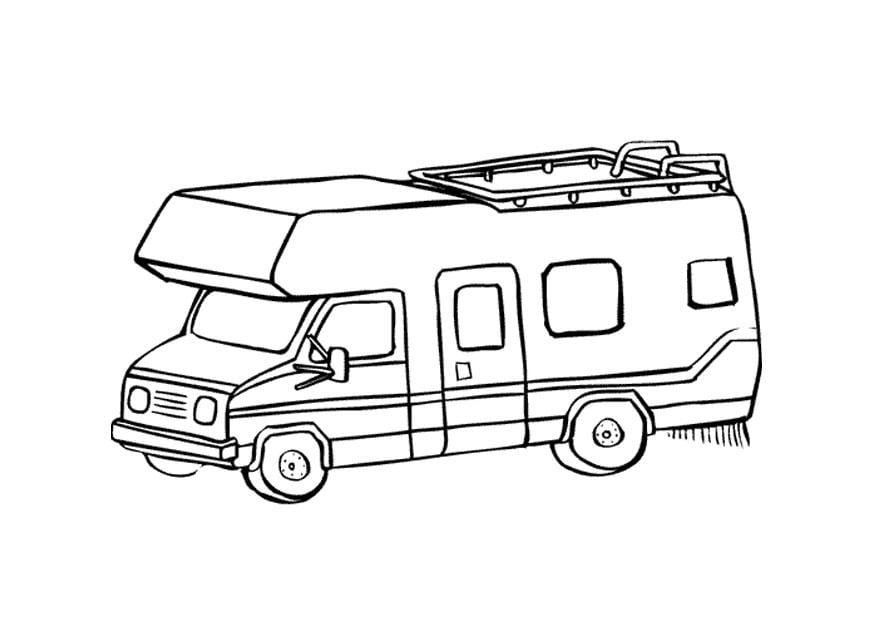 Bildresultat för tecknad husbil
