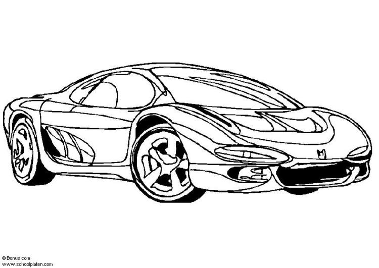 Kleurplaat Garfield In Auto M 229 Larbild Isuzu Visningsbil Bild 5441 Images