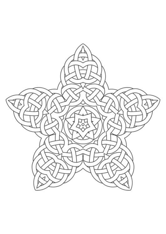 Kleurplaten Volwassenen Bloemen M 229 Larbild Mandala Bild 29611