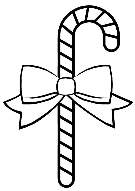 Kerst Kleurplaat Kerstbal M 229 Larbild Polkagris Bild 16391 Images