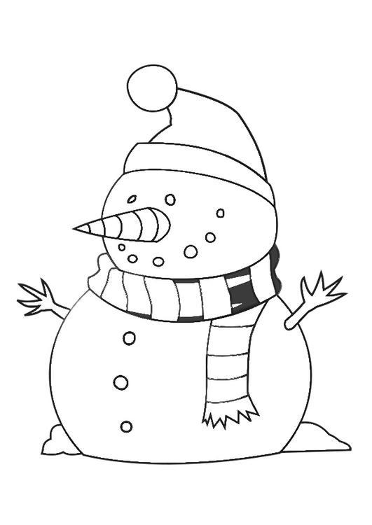 Kleurplaat Kerst Olaf M 229 Larbild Sn 246 Gubbe Bild 29538