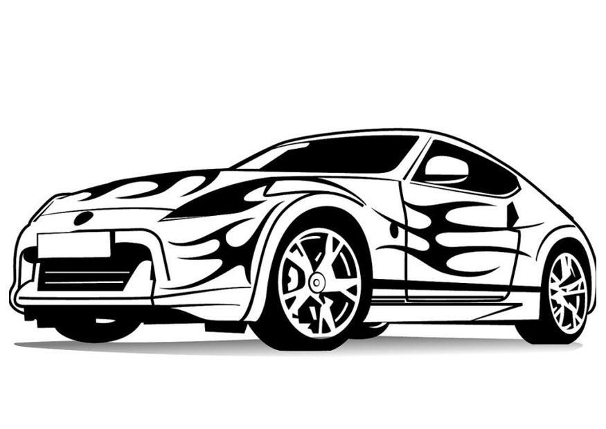 M larbild sportbil bild 24734 - Auto cool alle pagine da colorare ...