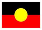 bild Aboriginal flagga