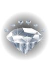 bild ädelsten - diamant