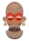 bild Afrikansk mask - Zaire - Angola
