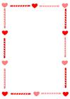 bild Alla hjärtans dag - brevpapper
