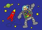 bild astronaut