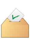 bild att rösta - ja