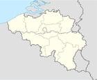 bild Belgien med provinser