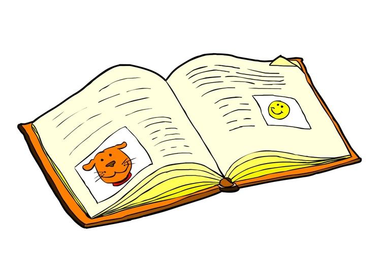 Bild bok - läsa - Skriv Ut Gratis Bilder
