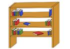bild bokhylla