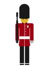 bild Brittisk kunglig vakt