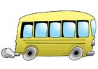 bild buss i rörelse