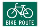 bild cykel väg