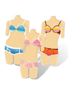 bild dockor med bikinis
