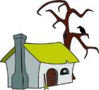 bild en häxas hus