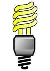 bild energisparande glödlampa