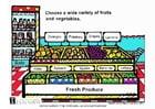 bild Färska grönsaker och frukt