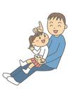 bild far och dotter