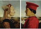 bild Federico de Montefeltro och hans hustru Battista Sforza