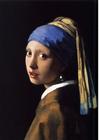 bild Flicka med pärlörhänge - Johannes Vermeer