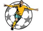 bild fotbollsmål