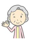 bild gammal kvinna