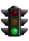 bild grönt trafikljus
