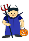 bild Halloween-dräkt