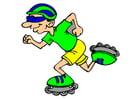 bild inline-skating