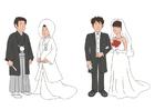 bild japanskt bröllop