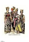 bild Javanesiska dansare 19:e århundradet