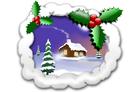 bild Jul landskap