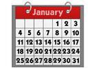 bild kalender - januari