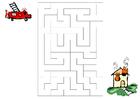 bild labyrint - brandkår