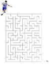 bild labyrint - fotboll