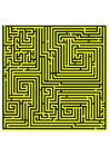 bild labyrint - gul