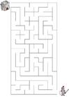 bild labyrint - riddare