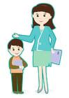 bild lärare och elev
