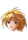 bild manga-flicka